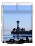 March Lghthouse Duvet Cover