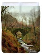 March Morning Duvet Cover by John Atkinson Grimshaw