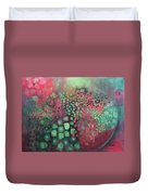 March Of The Flamingos Stairway To Heaven Duvet Cover