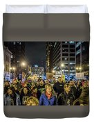 March On Duvet Cover