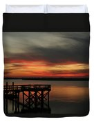 March Sunset Duvet Cover