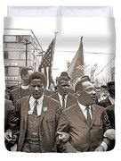 March Through Selma Duvet Cover