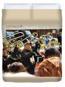 Marching Band Brass Duvet Cover