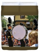 Marching Band Percussion  Duvet Cover