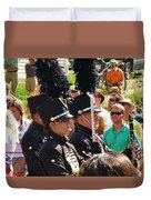 Marching Band Wind Duvet Cover