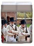 Marching To Battle Duvet Cover