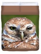 Marco Burrowing Owl - I Know What You're Thinking Duvet Cover