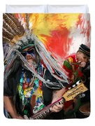 Mardi Gras 241 Duvet Cover