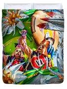 Mardi Gras - New Orleans 3 Duvet Cover
