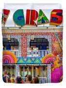 Mardi Gras North Duvet Cover