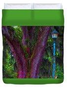 Mardi Gras Tree Duvet Cover