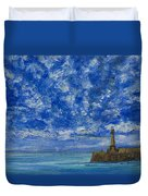 Margate Sea And Sky Duvet Cover
