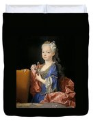Maria Anna Victoria Of Bourbon. The Future Queen Of Portugal Duvet Cover