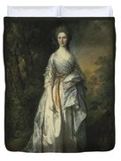 Maria Lady Eardley, 1766 Duvet Cover
