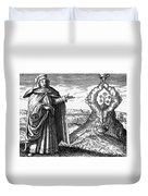 Maria The Jewess, First True Alchemist Duvet Cover