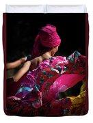 Mariachi Dancer 4 Duvet Cover