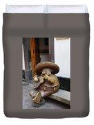 Mariachi Sculpture Duvet Cover