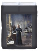 Marie Curie (1867-1934) Duvet Cover