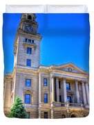 Marietta Courthouse Duvet Cover