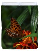 Marigold Grows Wings Duvet Cover