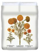 Marigolds, 1613 Duvet Cover