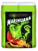 Marihuana Duvet Cover
