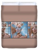 Marilyn 127 Tryp Duvet Cover by Theo Danella