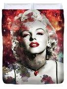 Marilyn Monroe   Colorful  Duvet Cover