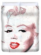 Marilyn Monroe Duvet Cover