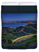 Marin Headlands Duvet Cover