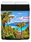 Marina Cay Duvet Cover