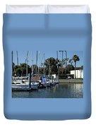 Marina Del Rey California 2 Duvet Cover