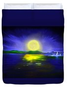 Marina Moonrise Duvet Cover