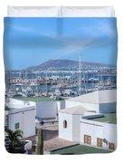 Marina Rubicon - Lanzarote Duvet Cover