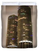Marina Towers Duvet Cover