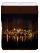 Marine At Night Duvet Cover