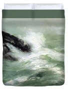 Marine Storm Sea 1911 Duvet Cover