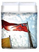 Mariners Flag Duvet Cover