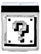 Mario Block Duvet Cover