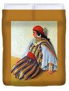 Mario Ridola Woman Duvet Cover