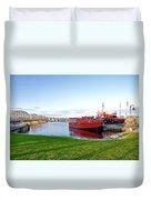 Maritime Springtime Duvet Cover