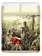 Marius Discovered In The Marshes At Minturn Duvet Cover