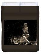 Marjorie Kinnan Rawlings Kerosene  Lamp Duvet Cover