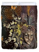 Mask Of The Wind Duvet Cover