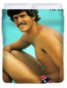 Mark Spitz, Olympic Champion Duvet Cover