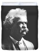 Mark Twain Duvet Cover