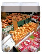 Market At Bensonhurst Brooklyn Ny 4 Duvet Cover