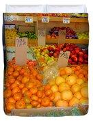 Market At Bensonhurst Brooklyn Ny 7 Duvet Cover