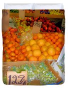 Market At Bensonhurst Brooklyn Ny 8 Duvet Cover