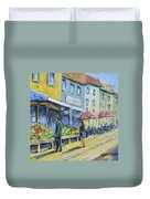 Market Day Duvet Cover